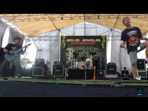 "Crown Of Rage ""Victims Oppression"" Live At Sambongbangi Bergema 2018"