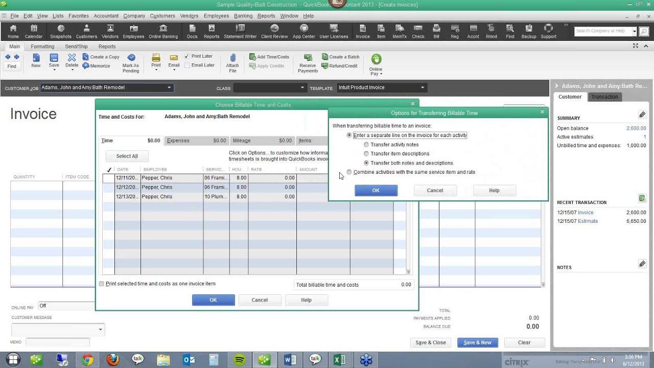 Free QuickBooks For Contractors Webinar