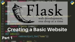 Flask Tutorial #1 - How to Make Websites with Python