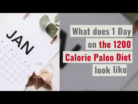 1200 Calorie Paleo Diet for 6 Days or Less + Menu Plan
