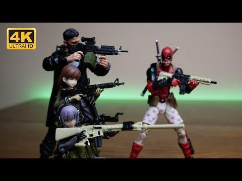 Unboxing: Guns.... Lot's of guns... Marauder Inc. 1/12 Scale Guns Complete Set #1