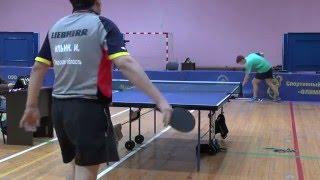 ФИНАЛ Виктор РАХМАНОВ - Илья ИЛЬИН Конаковская весна Table Tennis Настольный теннис
