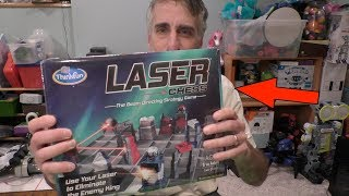 Review: Laser Chess by Thinkfun, The Beam Directing Strategy Game