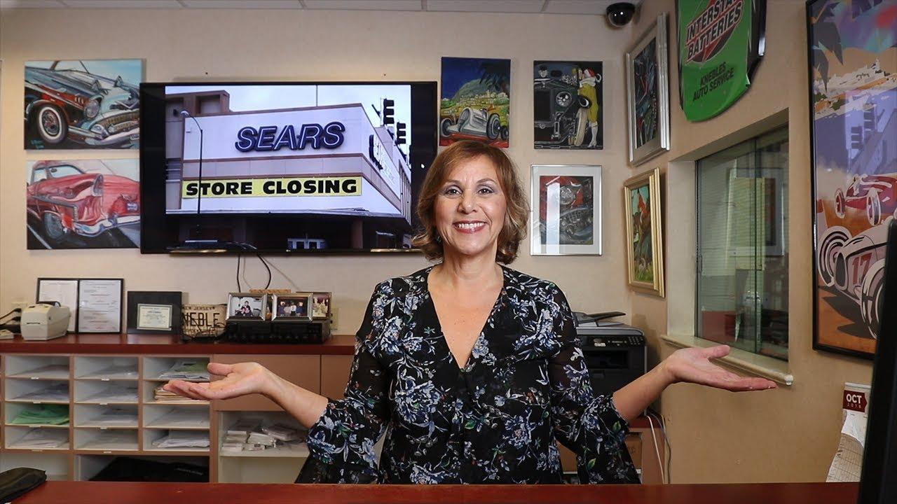 A Message to All Former Sears Auto Center Customers   Kneble's Auto Service  Center   Kneblesauto com