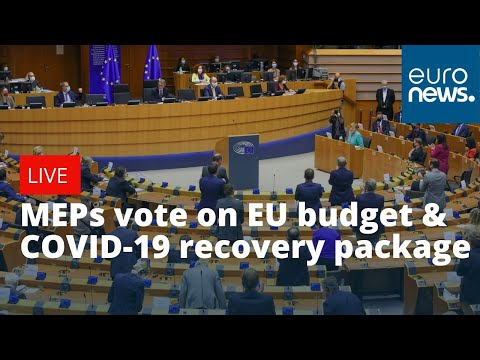 MEPs vote on EU budget and COVID-19 recovery package | LIVE
