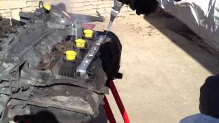 Nettoyage Cryogénique Moteur Porsche 911 par décapsoft - cryosoft