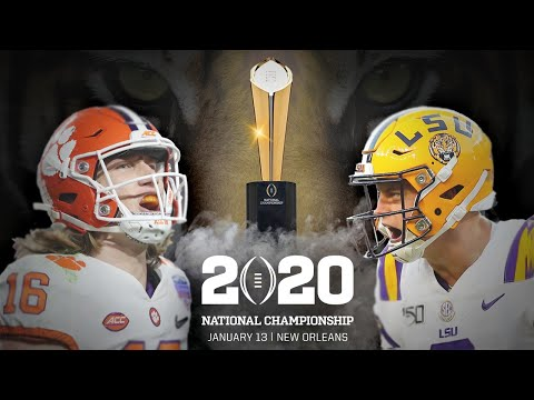 Countdown To The College Football Playoff National Championship! Clemson Vs. LSU | ESPN
