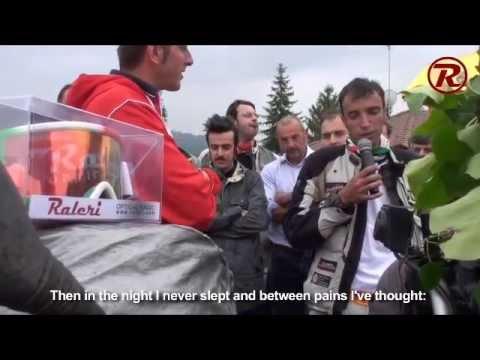 Davide Biga - Arrival of The Solitary Tour Around the World / Arrivo del Giro del Mondo in Solitaria