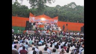Addressing a Public at Dhupguri (Jalpaiguri)