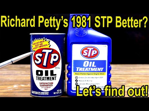 Richard Petty's 1981 STP Better than New STP?  Let's find out!