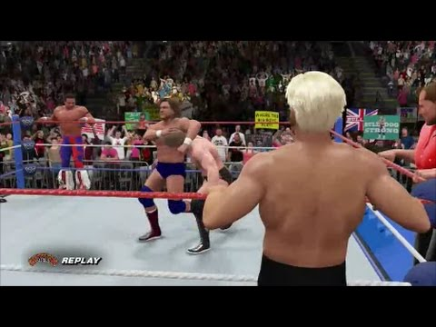Team Flair vs Team Piper - WWF Survivor Series 1991 (WWE 2K1