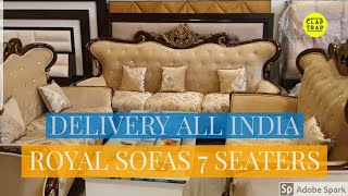 ROYAL SOFAS AT LOWEST PRICE | HOME DELIVERY ALL INDIA
