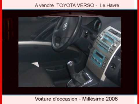 achat vente une toyota verso le havre youtube. Black Bedroom Furniture Sets. Home Design Ideas