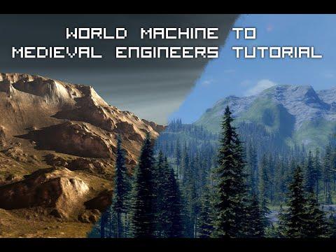 Medieval Engineers Custom Terrain Tutorial (World Machine)
