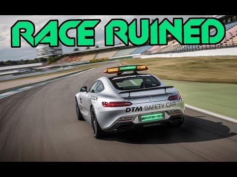 MASSIVE SAFETY CAR GLITCH - F1 Online Race