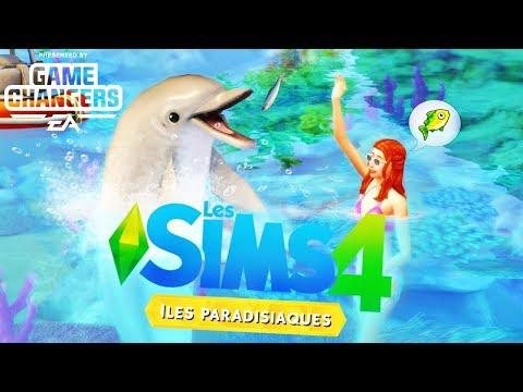 Iles Paradisiaques 🌴🐟 Nouvelles infos ! Les Sims 4