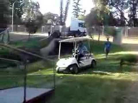 DJ Falcon crashing a golf buggy - YouTube on cyclone golf cart, rc golf cart, roadster golf cart, baja golf cart, toro golf cart, hornet golf cart, bombardier golf cart, batman golf cart, gamecock golf cart, rat rod golf cart, bronco golf cart, rocket golf cart, f-22 golf cart, trike golf cart, flamingo golf cart, villager golf cart, solorider golf cart, mustang gt golf cart, beast golf cart, raptor golf cart,