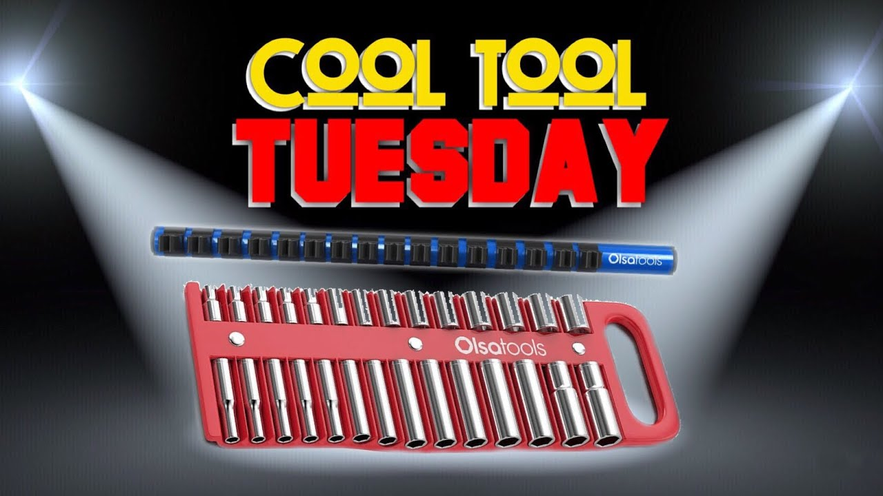 Cool Tool Tuesday: Olsa Tools Socket Organizer and Screwdriver Holder *Magnetic* Plus a coupon code