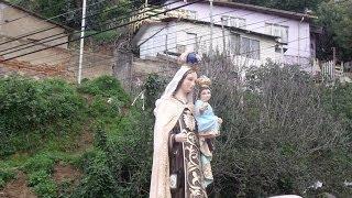 Virgen del Carmen de la Tirana del Cerro Alegre de Valparaíso.