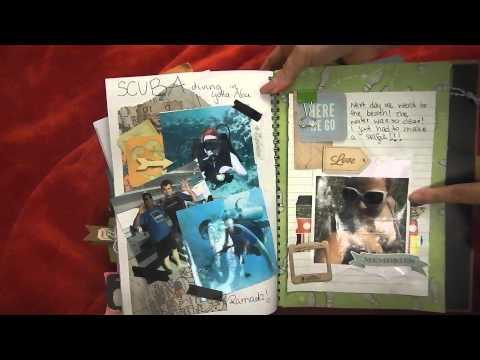 Smash book Travel journal  - Egypt
