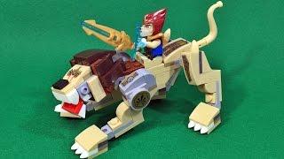 Bozhi 키마의 전설 레전드 비스트 사자와 라발 레고 짝퉁 조립 리뷰 Lego knockoff Chima 70123 Lion Legend Beast