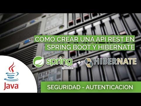 12 Como crear una API RESTFull con Spring e Hibernate Seguridad Accediendo a la Entidad