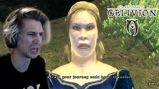 Xqc Reacts To Oblivion Memes With Chat