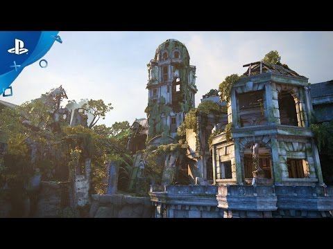 "UNCHARTED 4 Multiplayer ""Treasury Free Map"" Trailer"