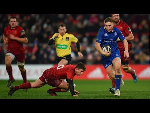 Jordan Larmour's wonder-try against Munster