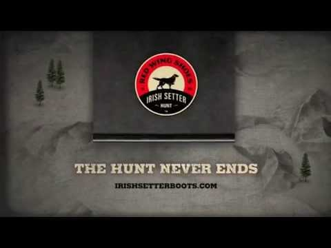 Irish Setter Hunting Boots by Red Wing