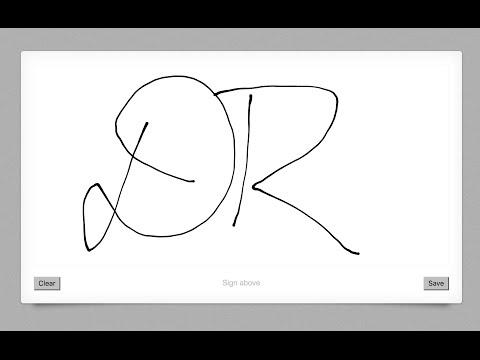 Episode #044 - Capturing Signatures With Signature Pad