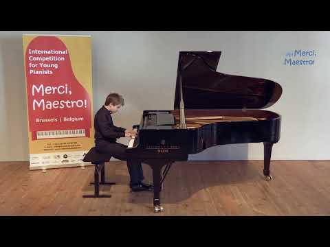 Adam Kamplet (14) /S Prokofiev: 10 Pieces from Romeo and Juliet, Op.75, No 4 Young Juliet