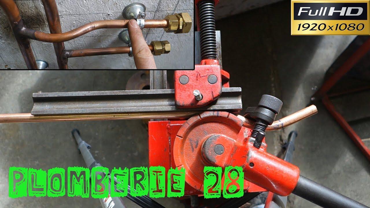 plomberie28 faire une cuill re dessautage sur un tube. Black Bedroom Furniture Sets. Home Design Ideas