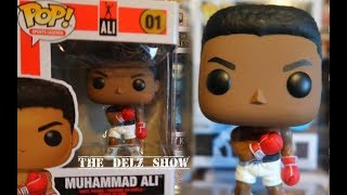 Muhammad Ali Funko Pop Boxing Toy Fair Exclusive Detailed Review