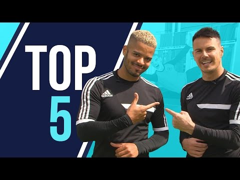 Top 5 | Unbelievable Car Park Goals with F2 Freestylers, Serge from Kasabian, Razor Ruddock & more