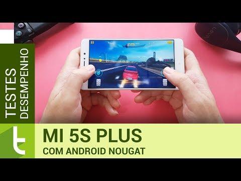 Desempenho do Xiaomi Mi 5s Plus com Android Nougat | Teste de velocidade do TudoCelular.com