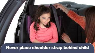 Video #3: How to Install a Child Booster Seat | Installation d'un siège d'appoint