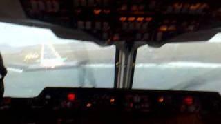 bae 146 go around in cockpit avroliner avro rj bae 146 200