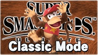 Let's Play Super Smash Bros. Ultimate! Classic Mode [DIDDY KONG]