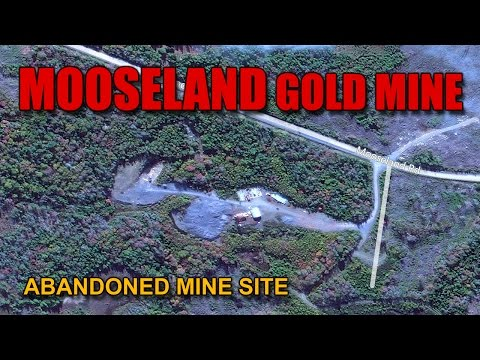 Ep.3 The MOOSELAND Abandoned GOLD MINE SITE