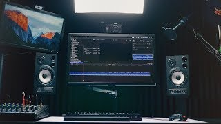 Ultimate Streaming and Video Editing Desk Setup