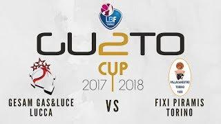 Gesam Gas&Luce Lucca vs Fixi Piramis Torino