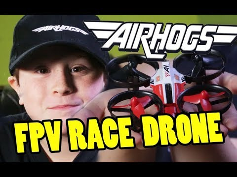 Airhogs FPV DR1 Racing Drone Review & Interview with World Champion Luke Bannister at Kidzania