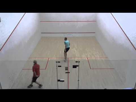 Norfolk squash teams EA2 Andy Magem v Cromer John Chandler
