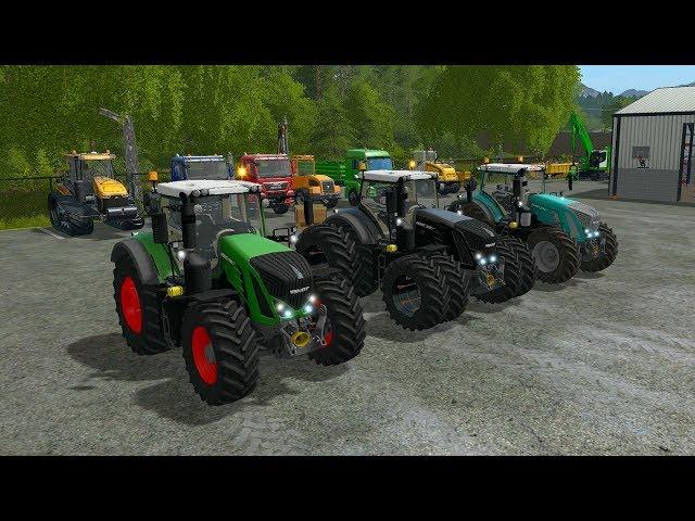 Farming Simulator 17 Mods - Fendt 900 Vario S4