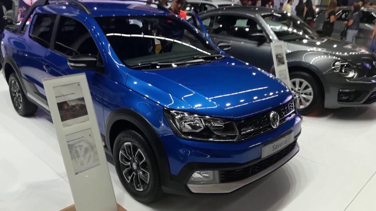 Volkswagen Saveiro Cross 2018 - YouTube