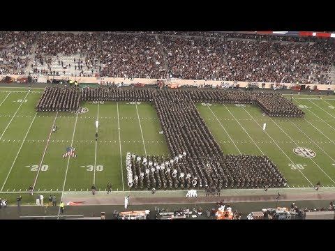The Best Texas Aggie Band Halftime Ever - New Mexico Game at Kyle Field - 11/11/17
