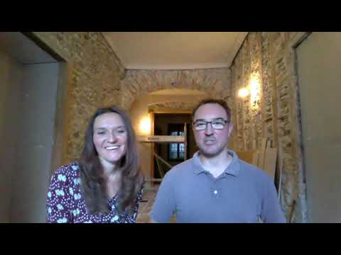 Video 10 - Revealing the decision for that room at Château de Capelle, plus kittens and garden veg