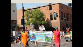 Bozeman Area Veg Society in 2014 Sweet Pea Parade