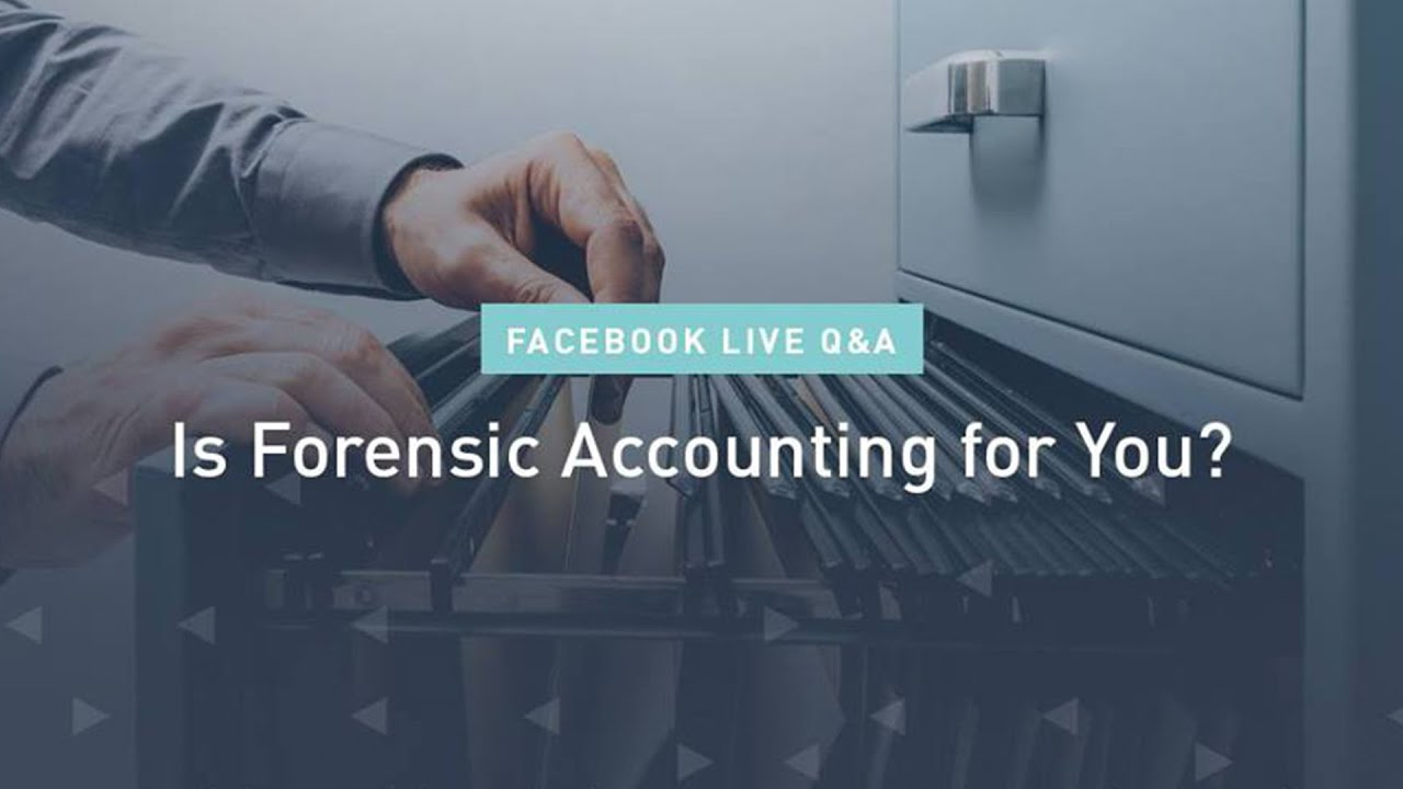 Pursuing A Career In Forensic Accounting Q A Youtube